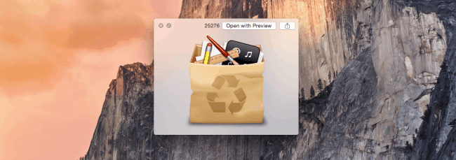 mac cleaup image preview