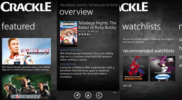 crackle video streaming free