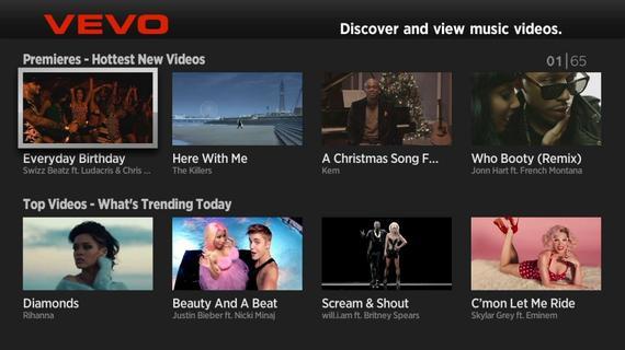 vevo video streaming