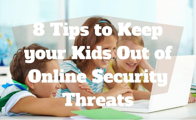 Kids Out of Online Security Threats