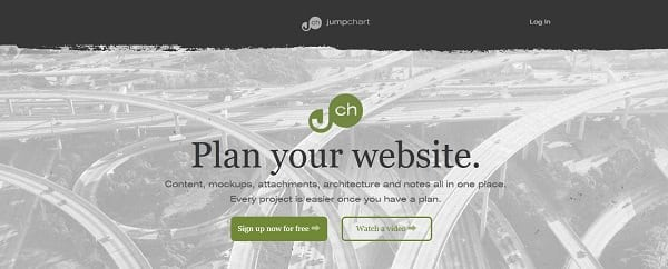 jumpchart tools for web designers and developers