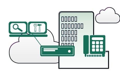 virtual managed pbx services