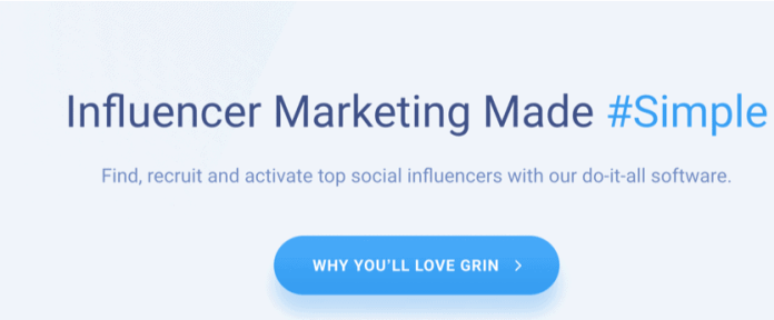 grin influencer marketing
