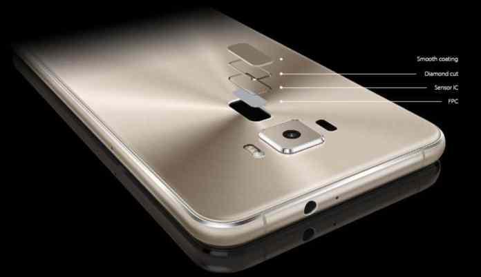 Asus Zenfone 3 Fingerprint Sensor