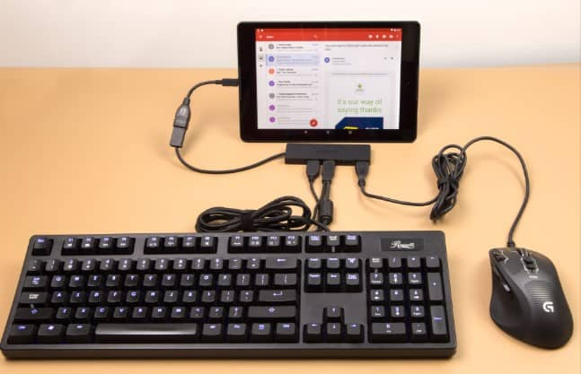 CONTROL YOUR ANDROID DEVICE WITH KEYBOARD or MOUSE