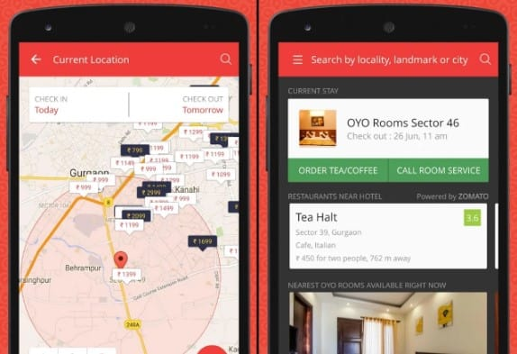 Oyo Rooms for Hotel booking