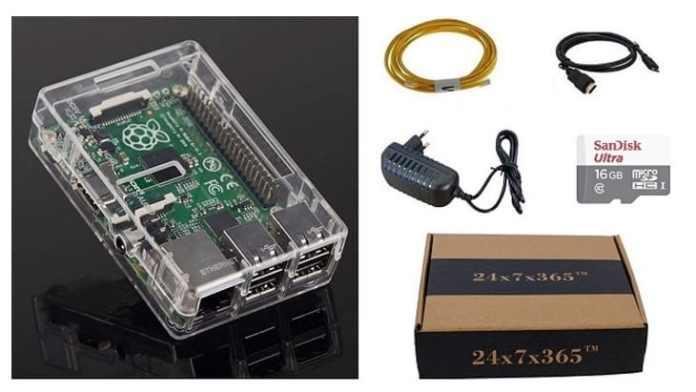 Raspberry Pi Kit: A mini computer that you can modify