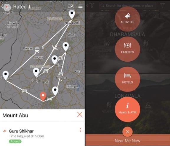 Tourism Mobile App - Tripgator