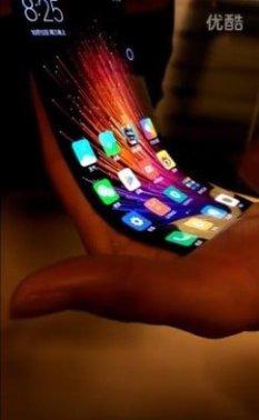 Xiaomi reveals bendable smartphone