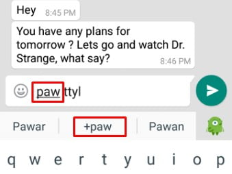 Text Shortcut - PAW for Parents Are Watching