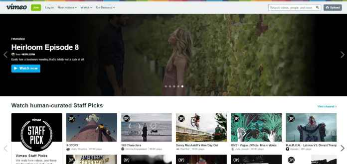 Vimeo - The Best Websites on the Internet for Movies