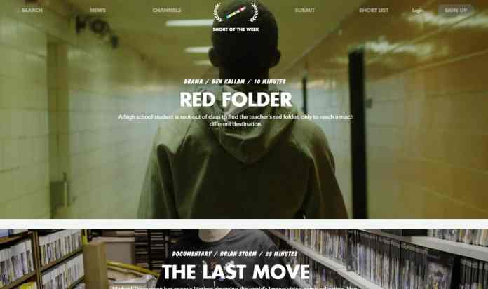 Short of the Week - The Best Websites on the Internet for Movies