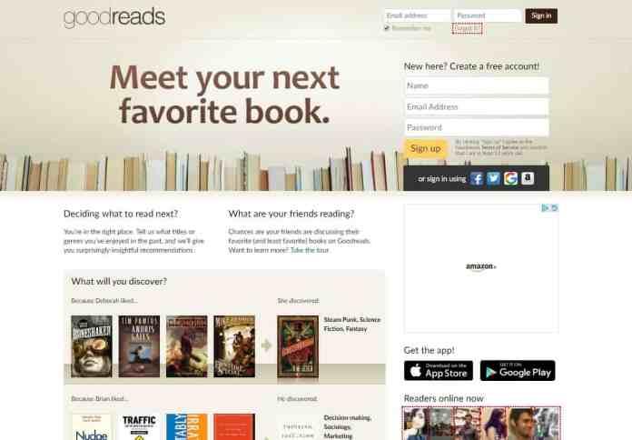 Websites an Avid Reader Must Know - GoodReads