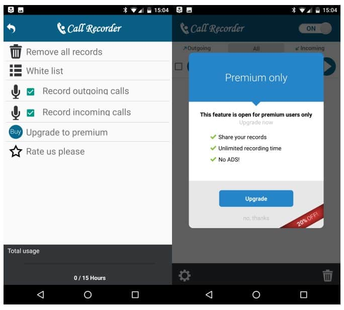 Call Recorder Automatic Android Application