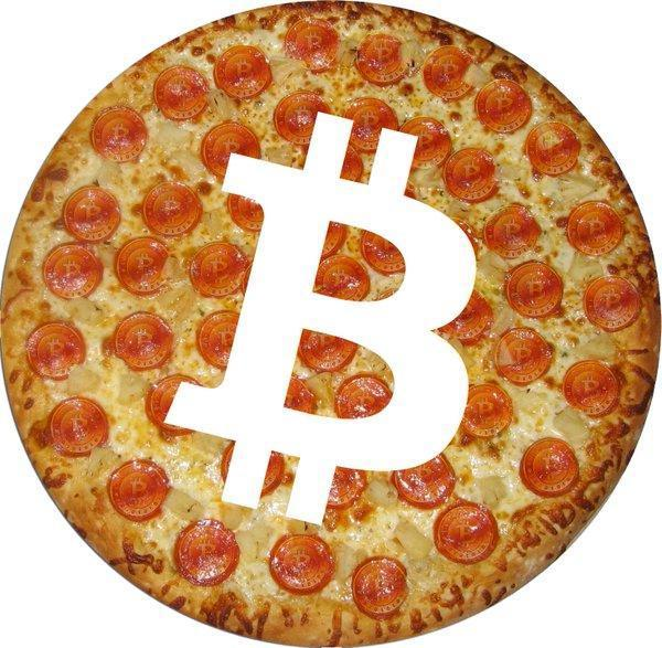 Spend Your Bitcoins pizza