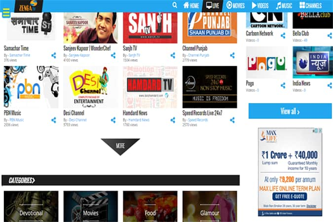 10 Best Websites To Watch Live Indian TV Channels (No  5 is Rated