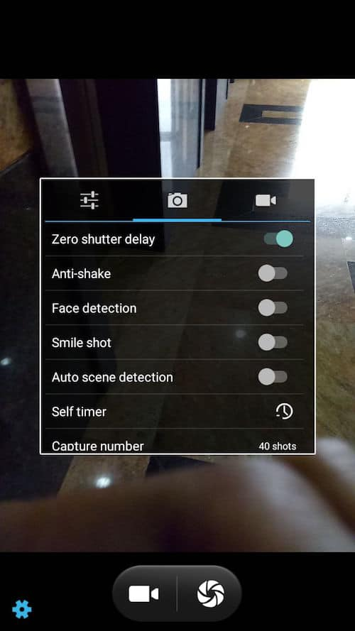 infocus turbo 5 plus camera settings