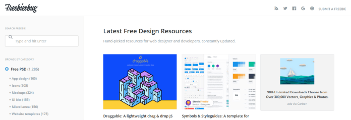 Top 12 Sites to Get High Quality Free Design Templates 5