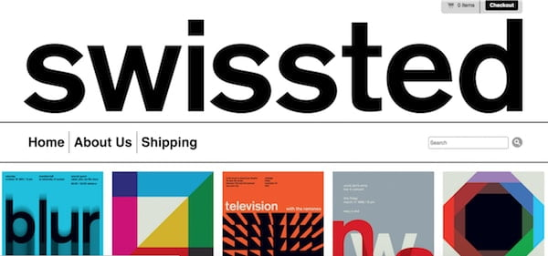 swissed wordpress design
