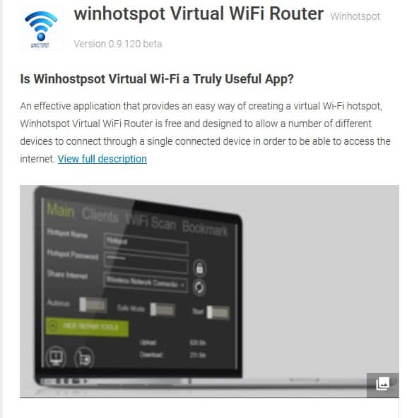 Best Alternatives for Connenctify For Wifi Hotspot Sharing from PC 5