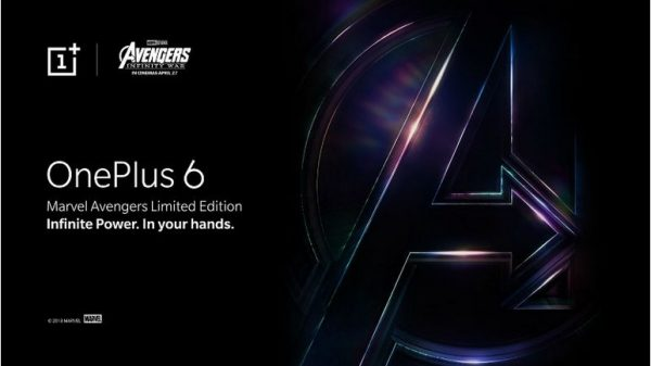 OnePlus 6x Marvel Avengers Limited Edition Will Launch in India on May 17 1
