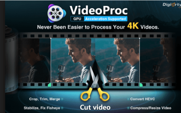 Why We Choose VideoProc to Process and Reduce GoPro 4K File Size 1
