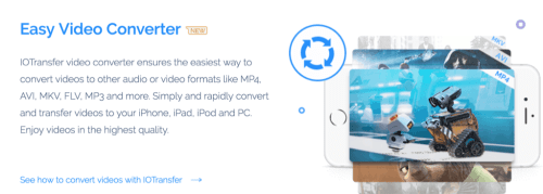 IOTransfer - Ultimate Tool for File Transfer, Download and Convert videos on iPad and iPhone 4