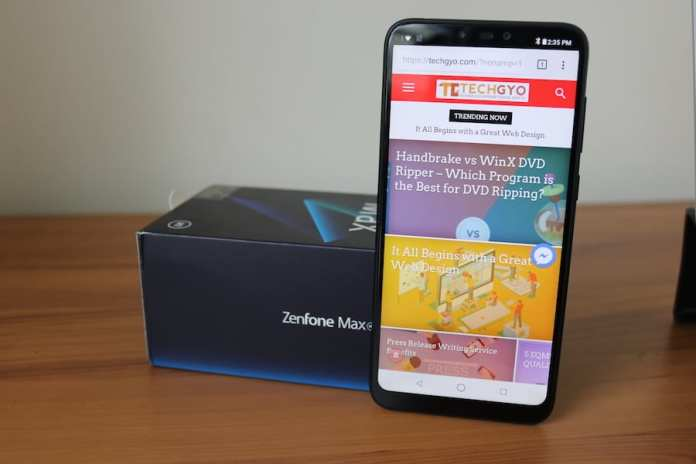 asus zenfone max m2 review asus x01ad review
