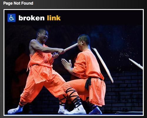 The Art of Making Awesome 404 Error Page 3