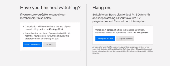 How to Cancel Netflix Free Trial 3