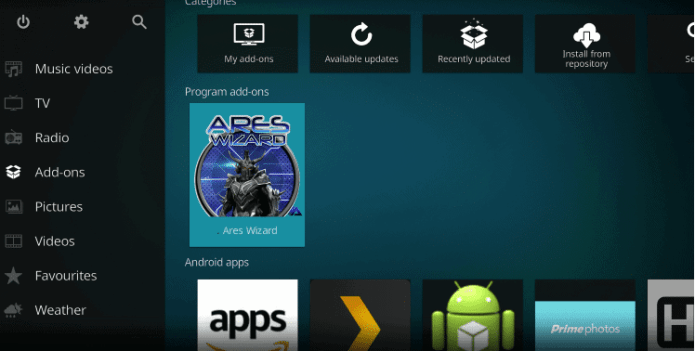 How to Install Ares Wizard on Kodi 14