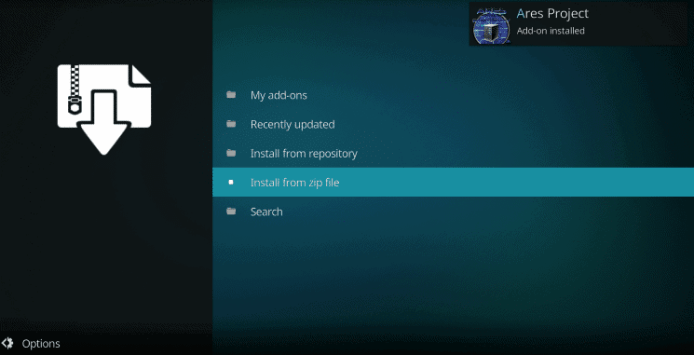 How to Install Ares Wizard on Kodi 13