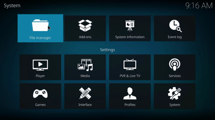How to Install Ares Wizard on Kodi 4