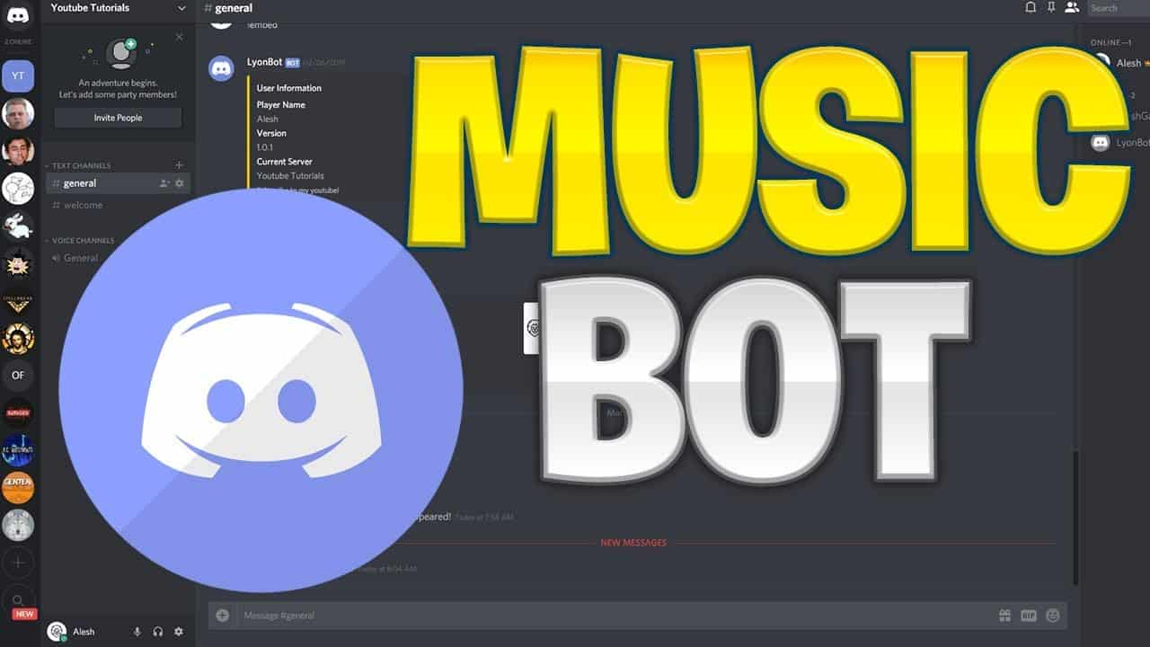 Bot De Musica Discord Vexera Boty Rhythm Vexera Dlya Diskorda