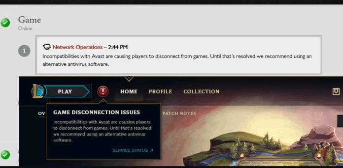 [Solved] How to Unblock Avast League Of Legends 1
