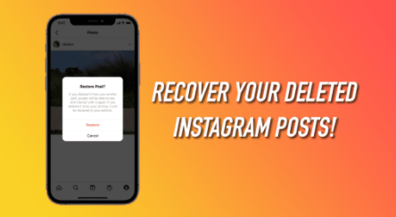 How To Restore Instagram Recently Deleted Post