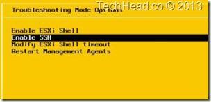 Enable SSH vSphere
