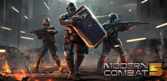 multiplayer feature on Modern combat 5