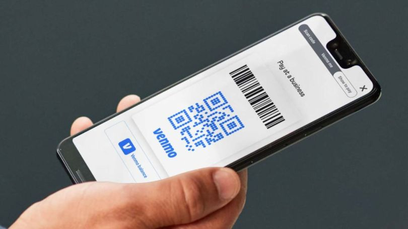 scan to pay on v