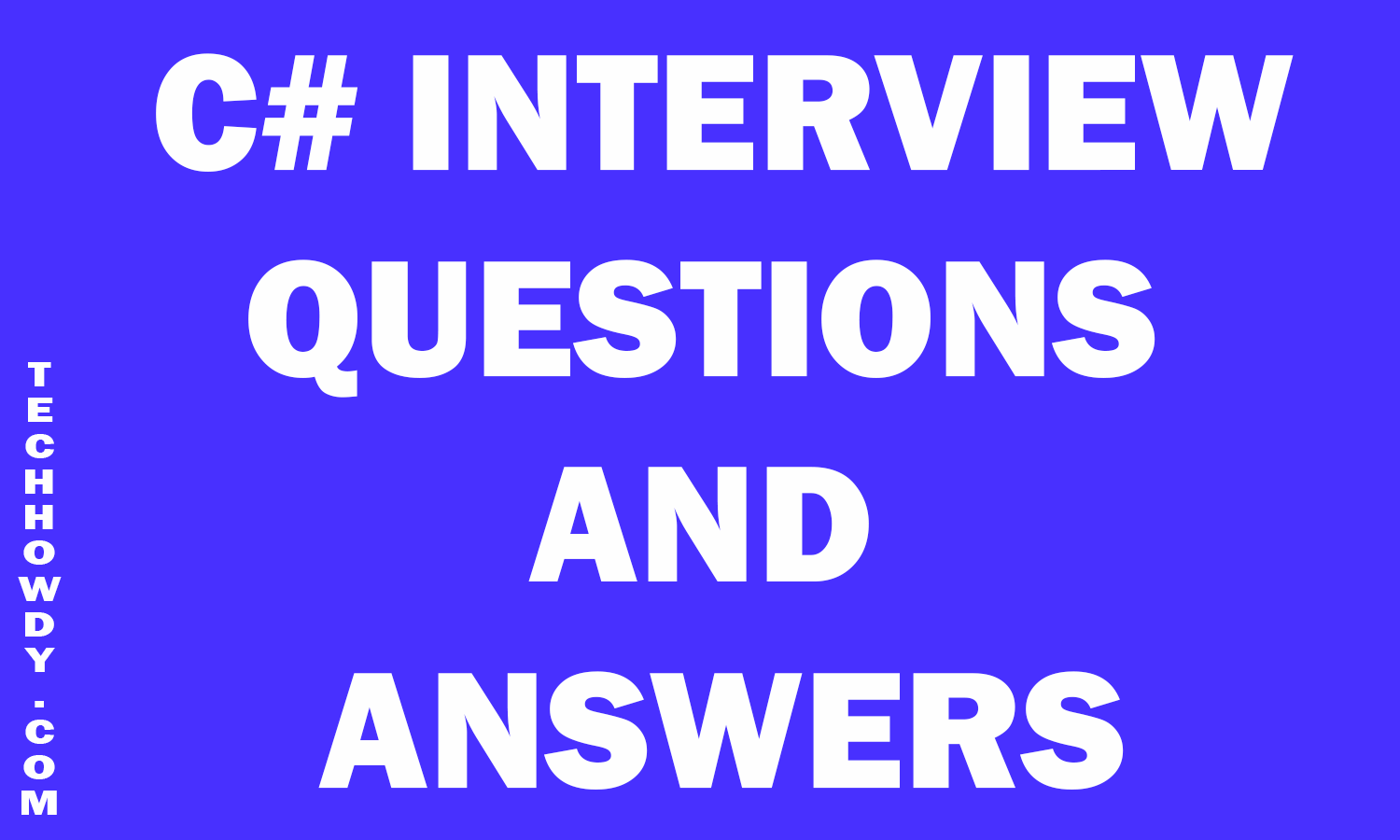 Sample C Interview Questions And Answers