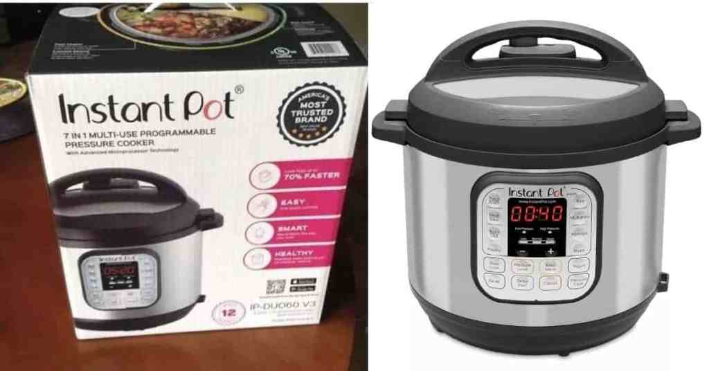 instant pot duo60 6 qt 7 in 1 multi use programmable pressure cooker