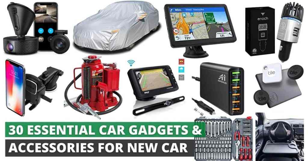 essential car accessories for new car 2021