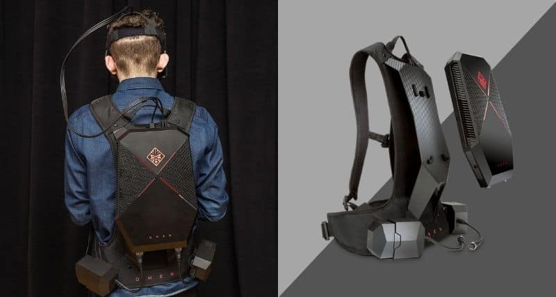 HP Omen X Compact Desktop and VR Backpack Review