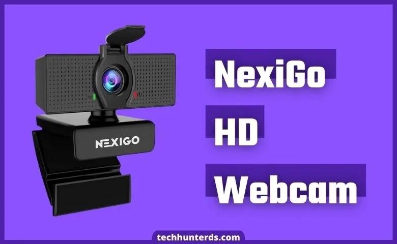 NexiGo HD Webcam with Microphone & Privacy Cover