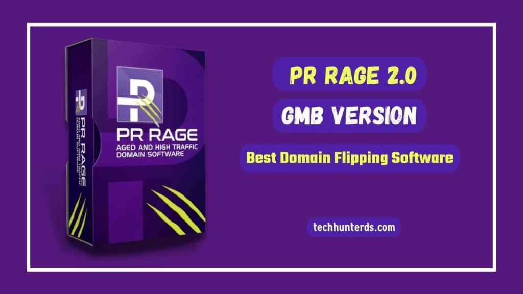 PR Rage 2.0 Best Domain Flipping Software Review 2021 [GMB Version]
