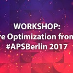 """App Store Optimization (ASO) from Scratch"" Workshop at #APSBerlin 2017"