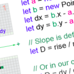 How to Code Your First Algorithm—Draw A Line
