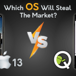 iOS 13 VS Android Q: Which OS Will Steal The Market? : RipenApps