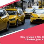 How to make a ride-sharing app like Gett, Juno & Uber?