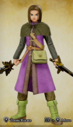 Dragon Quest 11 Costumes